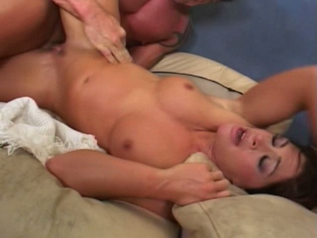 Lush Titted Dark-haired Mummy Aria Getting Labia Beaten From Booty