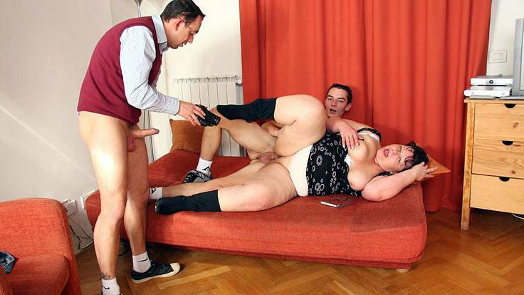 Sexually Aroused Mature Pornographic Star